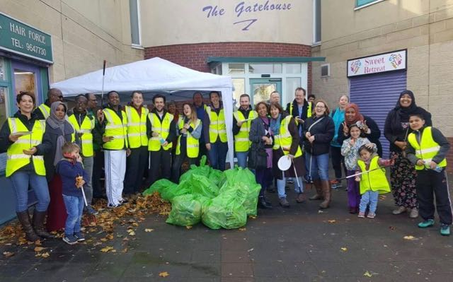 Community Litter Pick - Hartcliffe, Oct 2017